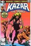 Ka-Zar  (1981)  1  FN-
