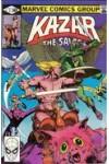 Ka-Zar  (1981)  3  VGF