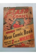 Flash Comics.....1946 Wheaties giveaway  (signed)